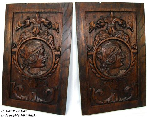 cabinet doors san marcos ca antique victorian carved oak cabinet door panel wall