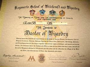 harry potter diploma kooky crafts pinterest With hogwarts certificate template