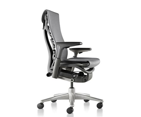 herman miller embody chair on the back of the chair