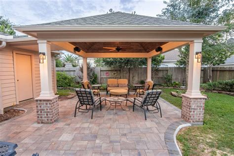 Patio Covers by Hip Roof Patio Cover In Copperfield Hhi Patio Covers
