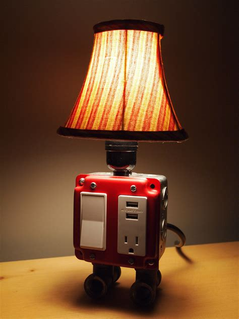 Night Stand Lamps Home Combo