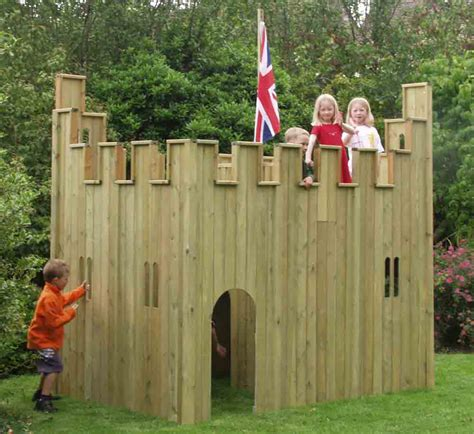 Toy wood castles for sale. Homemade Wood Hammock Stand Plans, Diy Outdoor Tables And Benches, Wooden Play Castle Plans