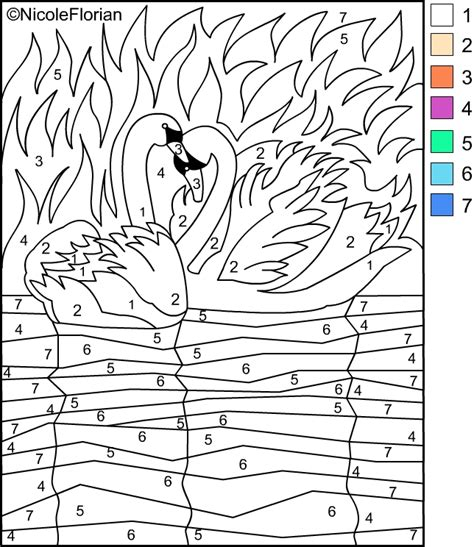nicoles  coloring pages color  numbers