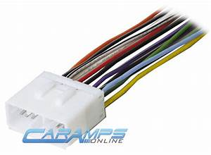 New Car Stereo Cd Player Wiring Harness Wire Adapter Plug