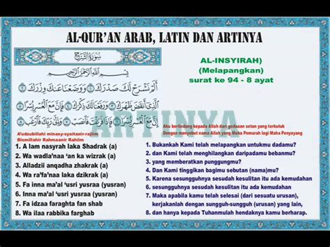 Al Qariah Beserta Artinya Images And Pictures Search