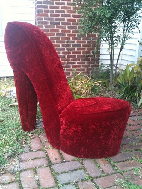 high heel chair cheap high heel shoe chair with storage
