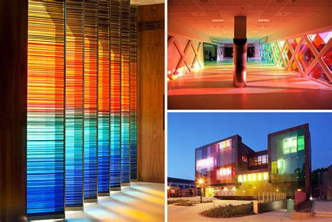 10 Examples Of Colored Glass Found In Modern