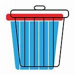 Basura Lixeira Icono Bin Icon Papelera Reciclaje