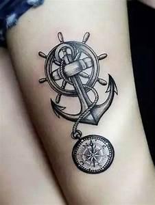 Tatouage Ancre Signification : tattoo cuisse 48 tatouages de caract re tatouages ~ Nature-et-papiers.com Idées de Décoration