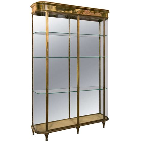 glass display cabinet glass display cabinet at 1stdibs