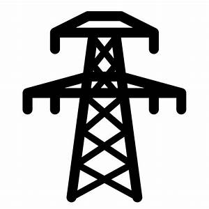 Electricity clipart electric grid - Pencil and in color ...