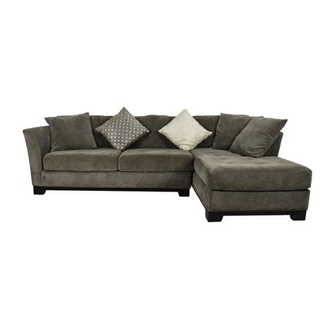 Chaise E 50 50 Macy 39 S Macy 39 S Gray Sectional With Chaise