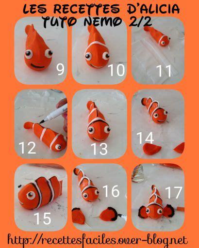 tutoriel nemo ou papa en p 226 te 224 sucre cake design sugarart tuto gateau d 233 cor 233