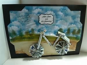 Fahrrad Aus Geldscheinen Falten : fahrrad basteln geldgeschenk ~ Lizthompson.info Haus und Dekorationen