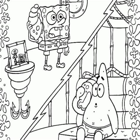 cartoons coloring pages spongebob  patrick coloring pages
