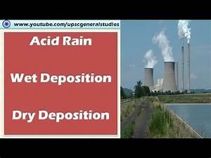 Acid rain: Dry deposition: Wet deposition: Sources of acid ...