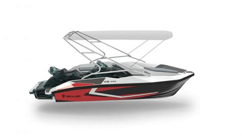 Buy A Wave Boat by 2018 Sealver Wave Boat 444 Black For Sale In