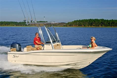 Scout Boats Greenville Sc by 2017 Scout 195 Sportfish Power Boat For Sale Www