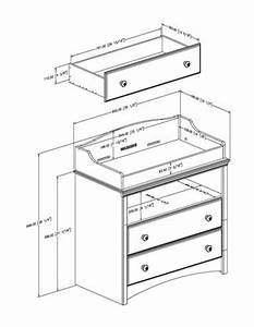 Dimension Table à Langer : dimensions table langer table de lit ~ Teatrodelosmanantiales.com Idées de Décoration