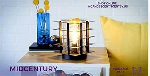 NEW! MID-CENTURY SCENTSY WARMER Scentsy® Buy Online