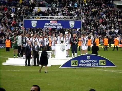 West Bromwich Albion Football Club Players Receiving ...