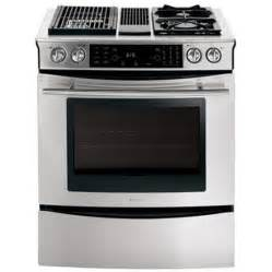 Best Kitchen Ranges by Jenn Air Modular Dual Fuel Downdraft Range Stainless