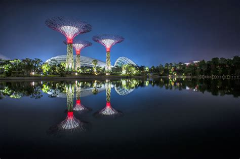 gardens of the bay spectacular gardens by the bay in singapore idesignarch interior design architecture