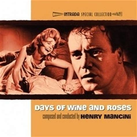 Film Music Site  Days Of Wine And Roses Soundtrack (henry