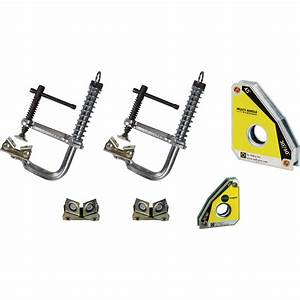 Strong Hand Tools Nomad Welding Table Economy Tool Kit  U2014 6