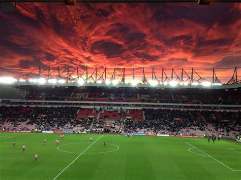 stadium of light apocalyptic sunset the stadium of light in