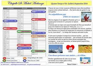 Les Quatre Temps Horaires : le quatre temps n 36 chapelle saint michel archange ~ Dailycaller-alerts.com Idées de Décoration