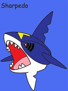 Sharpedo by Catherinex13 on DeviantArt