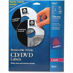 avery 5931 laser printer removable cd dvd labels removable With cd disc stickers