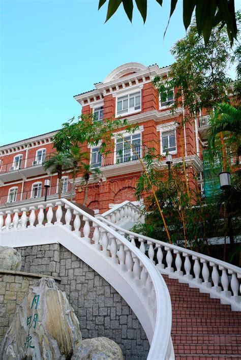 hall university  hong kong stock image image