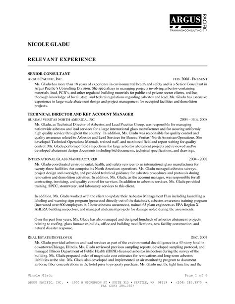 works supervisor resume 28 images works supervisor