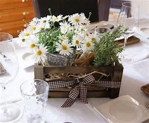 Deco De Table Champetre : d coration de table les tables de pralinette d couvrir ~ Melissatoandfro.com Idées de Décoration