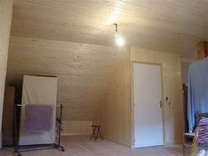 Mur Interieur Bois : superior habillage mur interieur en bois 4 madeuf bois ~ Zukunftsfamilie.com Idées de Décoration