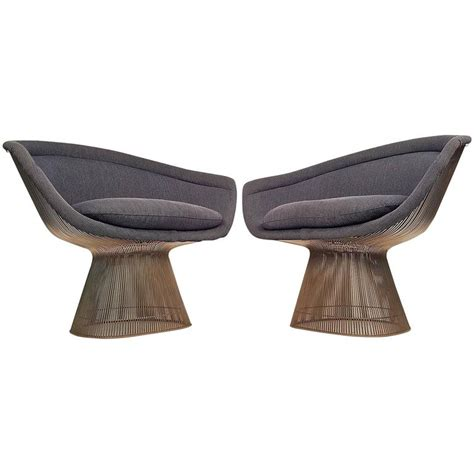 warren platner lounge chairs for knoll for sale at 1stdibs