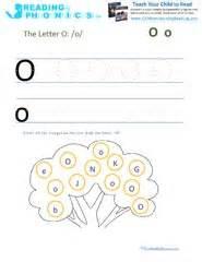 letter o worksheets for pre k