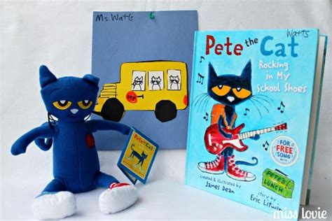 Bus Pete The Cat Template