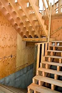 Treppe Selber Bauen Holz : bautreppe aus holz selber bauen so klappt 39 s am besten ~ Buech-reservation.com Haus und Dekorationen