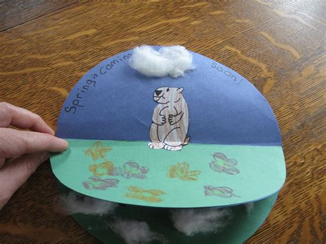 almost unschoolers groundhog day craft 478 | IMG 3827