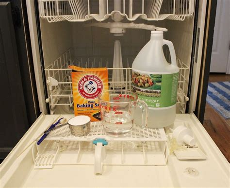 cleaning dishwasher how to clean a dishwasher naturally