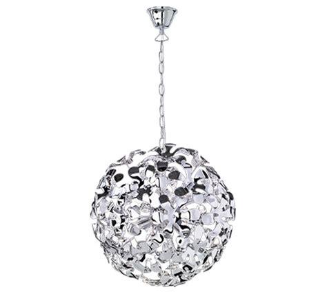 halogen ceiling pendant l pendant light chrome flower