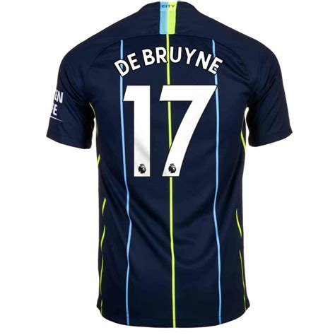 2018/19 Nike Kevin De Bruyne Manchester City Away Jersey ...