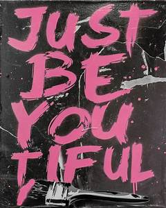 Rich Simmons, Just Be You Tiful | Imitate Modern Gallery ...  You