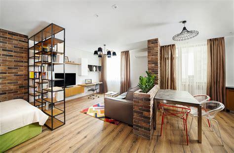Studio Apartment : Divide A Studio Apartment Into Multiple Rooms