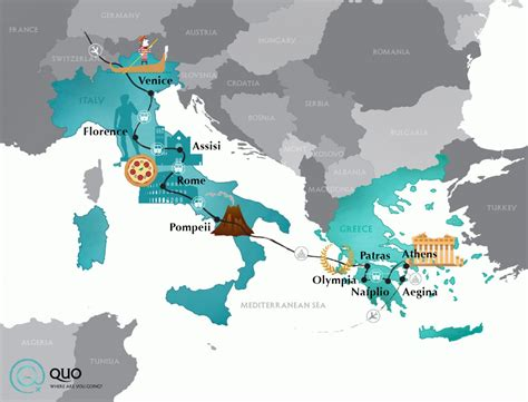 italy  greece quo student travel