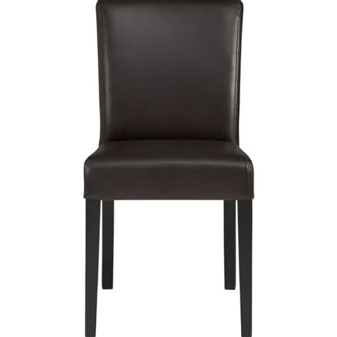crate and barrel lowe leather side chair discover and save creative ideas