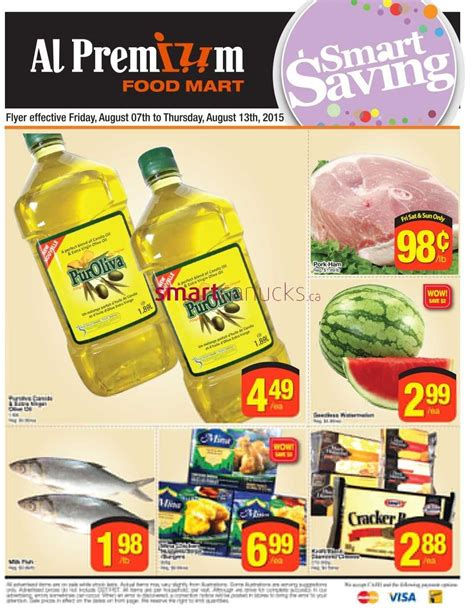 premium cuisines al premium food mart flyer august 7 to 13